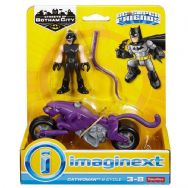 Imaginext DC Super Friends Streets of Gotham City - Catwoman & Cycle